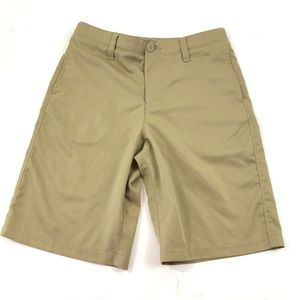 Under Armour Flat Front Khaki Shorts